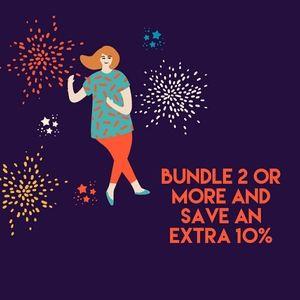 Bundle and enjoy the savings 🎉🎉🎉